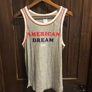 2/$12 VS Pink American Dream Muscle Tank